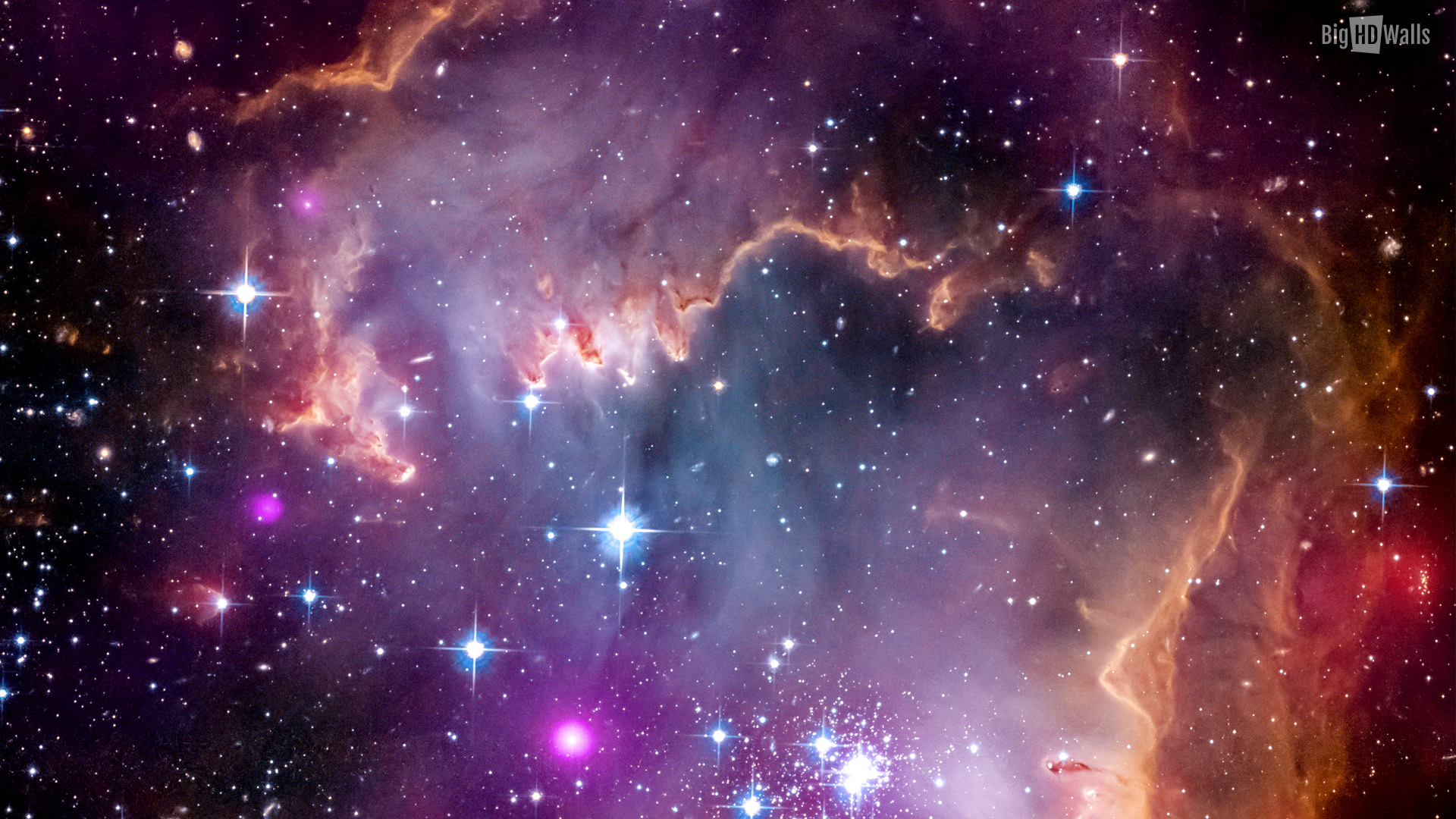 When god serves us tom sanders ministries - Hubble space wallpapers ...