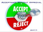 acceptance-without-approval