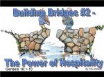 Building Bridges #2